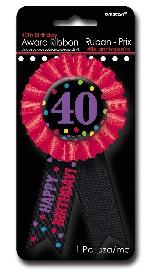 Condecoración 40th Birthday