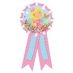Roseta Princesa Woodland rellena de Confetti