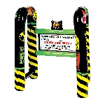 Acc Decoracion Inflatable Over the Hill Walkers 78.7cm