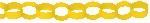 Guirnalda decorativa de papel en forma de cadena color amarillo-3,9m