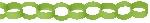 Guirnalda decorativa de papel en forma de cadena verde lima-3,9m