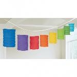 Guirnalda Rainbow Paper Lantern Garlands 3.65m