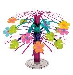 Centro de mesa Flor de hibisco en cascada-19cm