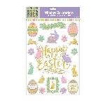 Calcomanías para Ventanas Decorativas de Pascua - Decoraciones Semana Santa