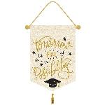 Cartel Colgante Graduación - 33cm x 38cm