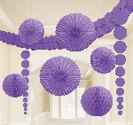 Kit Decoracion Purple Room Kit Decorations