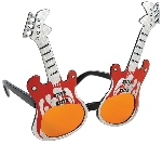 Gafas Guitarra de Rock
