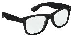 Gafas Negras de Nerd