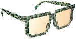 Gafas Fun Shades Pixilated Green Tinted