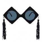 Novedosas Gafas Gigantes Gorros de Graduación - 28cm