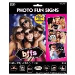 Juego Let's Party Signs 6 PKG/12