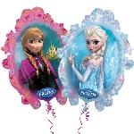 Globo Disney de Frozen - 78cm metalizado