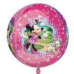 Globo Orbe Minnie Mouse - Metalizado 40-45cm