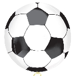 Globos Orb Balones de Fútbol - Aluminio 40cm-45cm