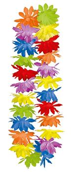 Guirnaldas Hawaianas Leis - Colores Variados (caja de 25 unidades)