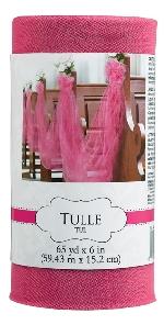 Tull Spool Bright Pink 59.4m x 15cm