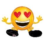 Globos en forma de Emoticons Emoji - Aluminio 48cm