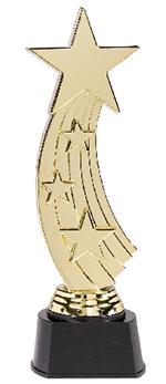 Trofeo de Estrella - Plástico 24cm