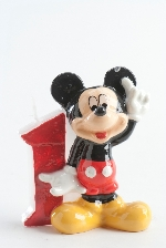 VELA DISNEY MICKEY Nº 1