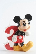 VELA DISNEY MICKEY Nº 3
