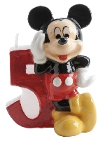 VELA DISNEY MICKEY Nº 5