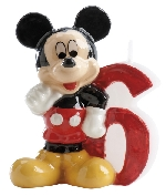 VELA DISNEY MICKEY Nº 6