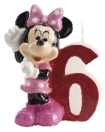 VELA DISNEY MINNIE N� 6