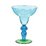 Vaso Plástico para Margarita en Tonos Fríos - 261ml