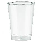 Vasoos de plástico transparentes tipo Tumbler-295ml
