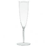 Copas de champán de plástico transparente-142 ml