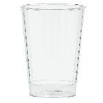 Vasos de plástico transparente tipo tumbler-340ml