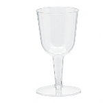 Mini Vasos para Vino Plásticos Transparentes - 71ml
