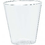 Vasos para chupitos de plástico transparente-56 ml