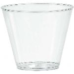 Vaso Clear Plastic Tumblers 266ml