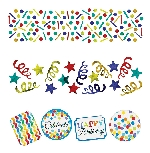 Confeti Colores Primarios Arcoíris -Confeti para Mesa 34g