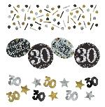 Confeti Papel Picado Celebración Sparkling Edad 30 - 34g