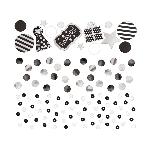 Confeti Black Sequin Foil & Paper 34g
