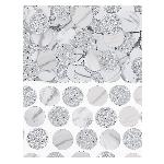 Confeti Silver Foil Circle 63g