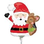 Min For Santa & Reindeer