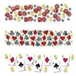 Confetti Casino-Confetti para mesa, bolsa de 34g