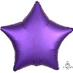 "18""/45cm ESTRELLA  Satin Purple Royale Star"