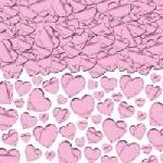 Confeti Light Pink Hearts