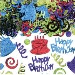 Confeti Happy Birthday Foil 70g