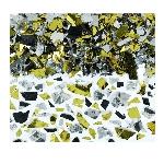 Confeti Sparkle Foil Black Gold & Silver 70g
