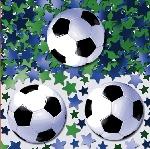 Confeti Papel Picado Temático de Fútbol para Mesa/ Invitaciones 14g