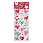 Kit de bolsas Corazones con caritas - Decoración San Valentín