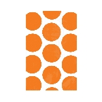 Bolsas para Golosinas Naranja Mesa de Dulces - 17cm