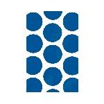 Bolsas para Golosinas Azul Brillante Mesa de Dulces - 17cm