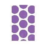 Bolsas para Golosinas Púrpura Mesa de Dulces - 17cm