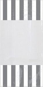 Bolsas de celofán para dulces Plateado - 27cm